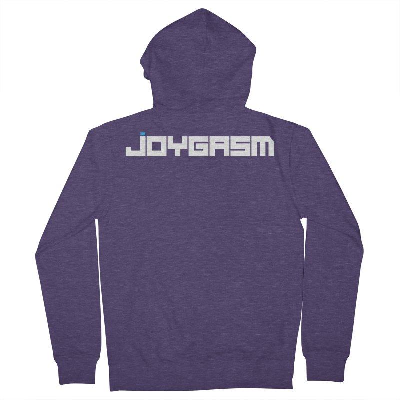Joygasm Logo Full Name Men's French Terry Zip-Up Hoody by The Joygasm Store
