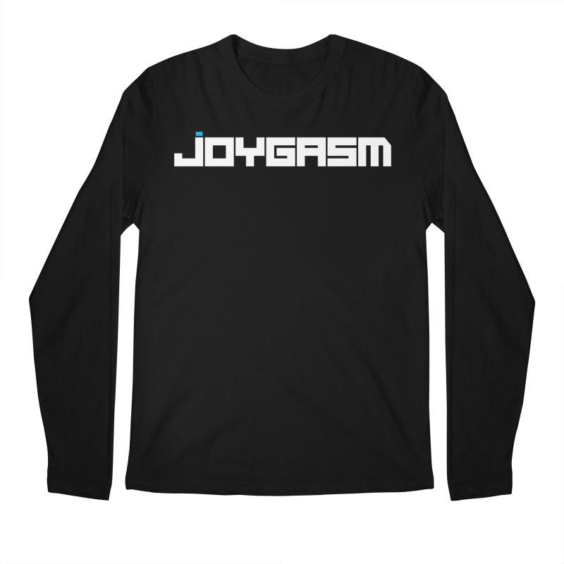 Joygasm Logo Full Name Men's Regular Longsleeve T-Shirt by The Joygasm Store