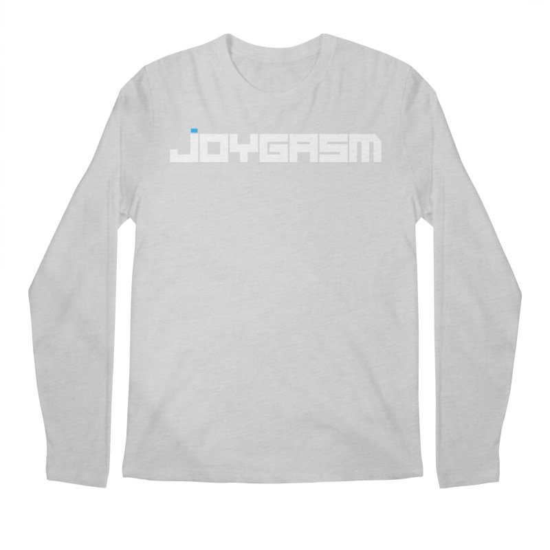 Joygasm Logo Full Name Men's Regular Longsleeve T-Shirt by The Joygasm Store