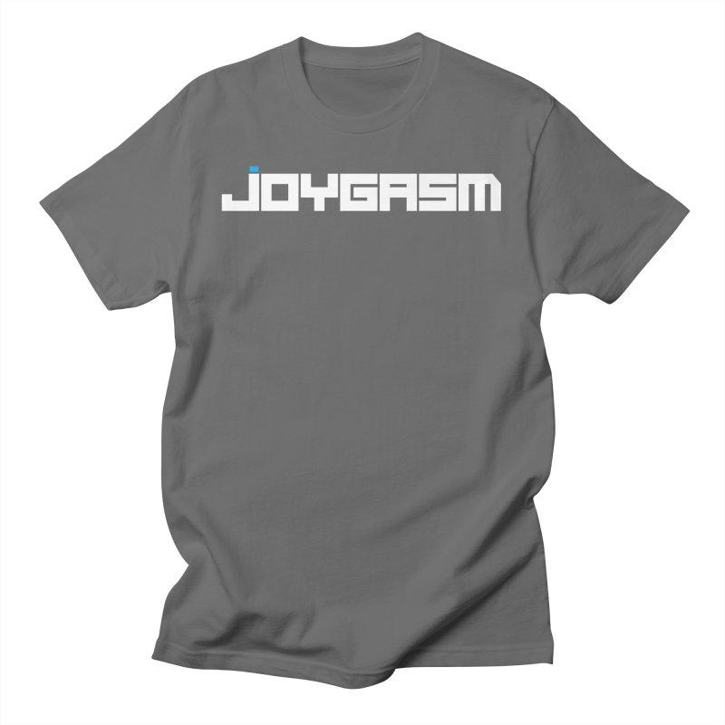 Joygasm Logo Full Name Men's T-Shirt by The Joygasm Store