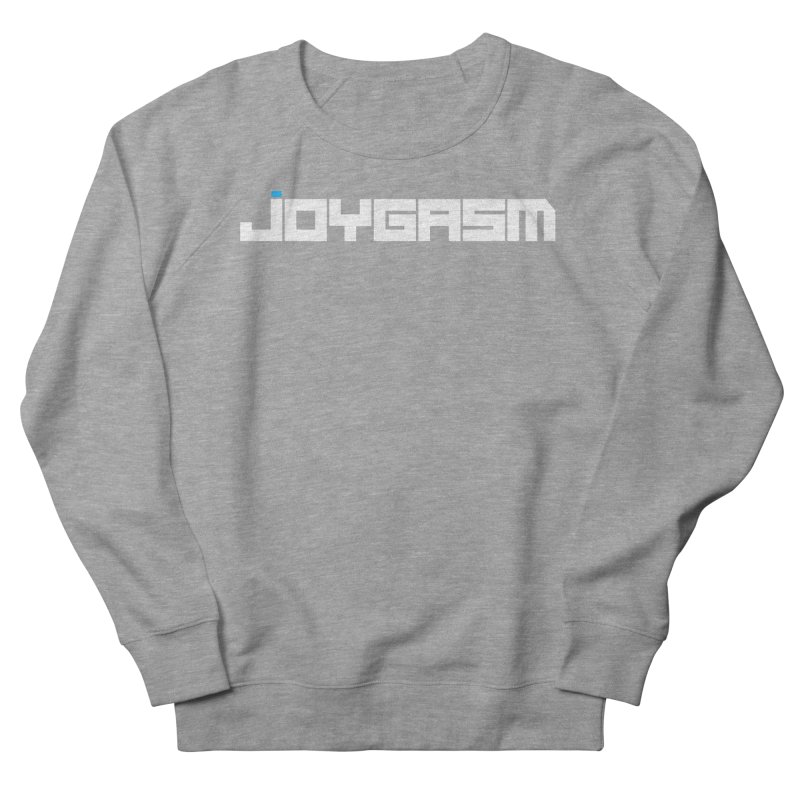 Joygasm Logo Full Name Men's French Terry Sweatshirt by The Joygasm Store