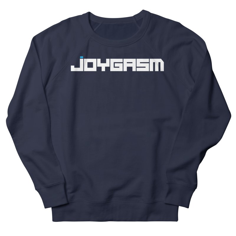 Joygasm Logo Full Name Men's French Terry Sweatshirt by The Joygasm Store