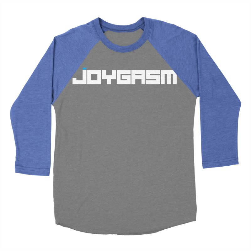 Joygasm Logo Full Name Men's Baseball Triblend Longsleeve T-Shirt by The Joygasm Store