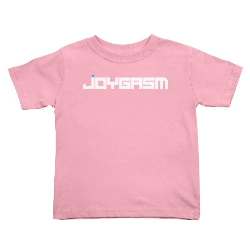 Joygasm Logo Full Name Kids Toddler T-Shirt by The Joygasm Store