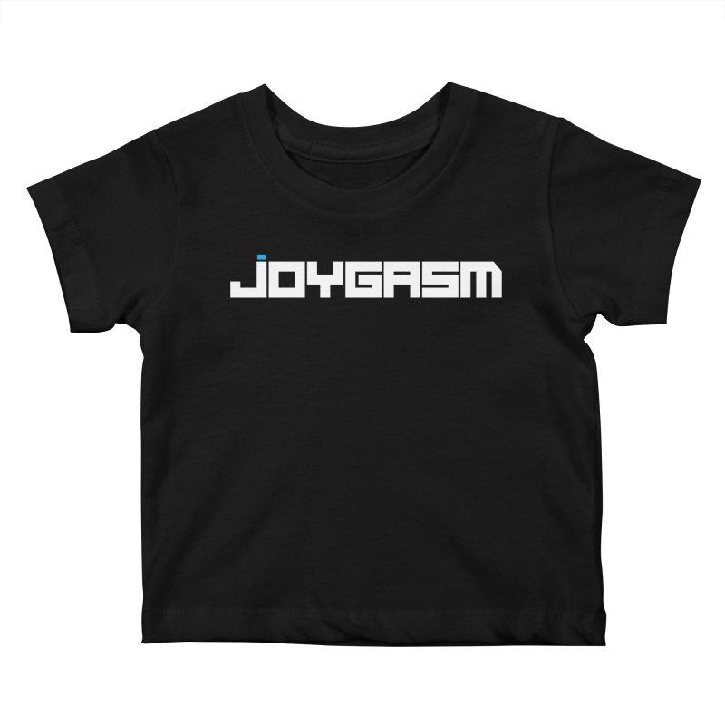 Joygasm Logo Full Name Kids Baby T-Shirt by The Joygasm Store