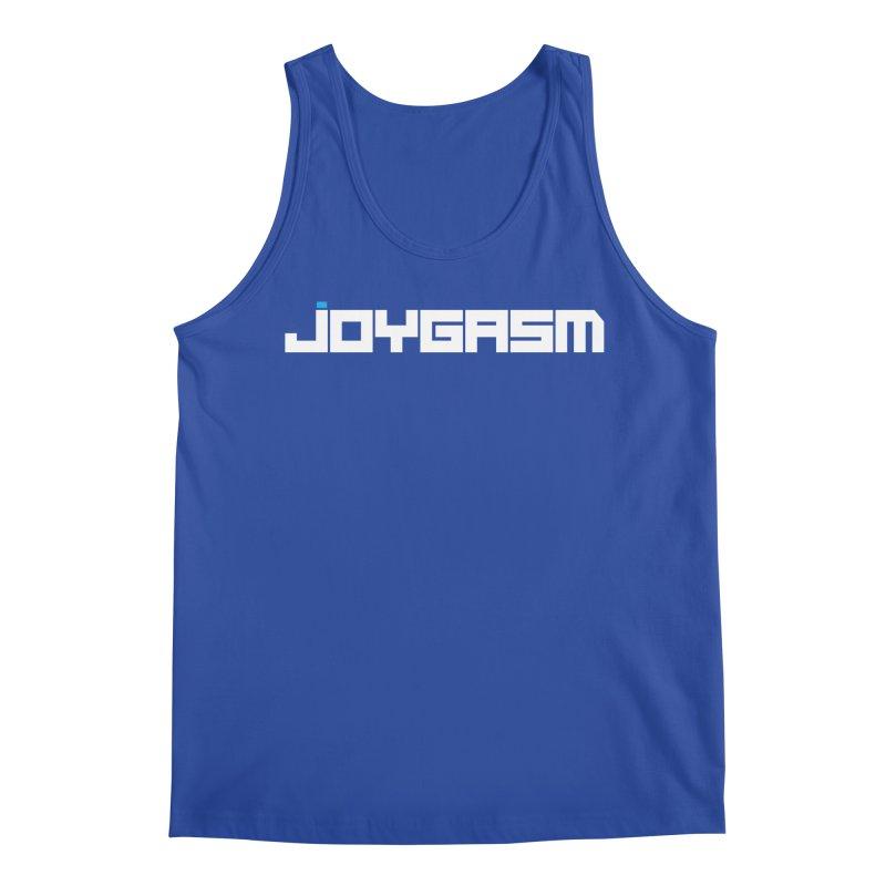 Joygasm Logo Full Name Men's Tank by The Joygasm Store
