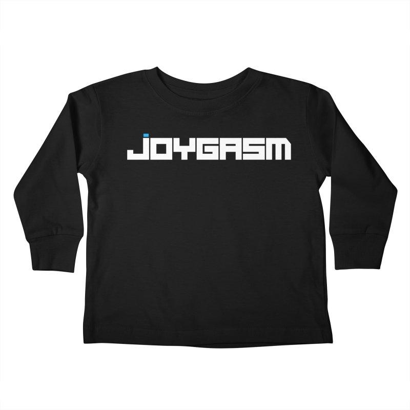 Joygasm Logo Full Name Kids Toddler Longsleeve T-Shirt by The Joygasm Store
