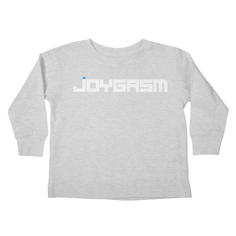 Joygasm Logo Full Name Kids Toddler Longsleeve T-Shirt by The Joygasm Store