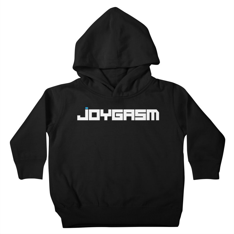 Joygasm Logo Full Name Kids Toddler Pullover Hoody by The Joygasm Store