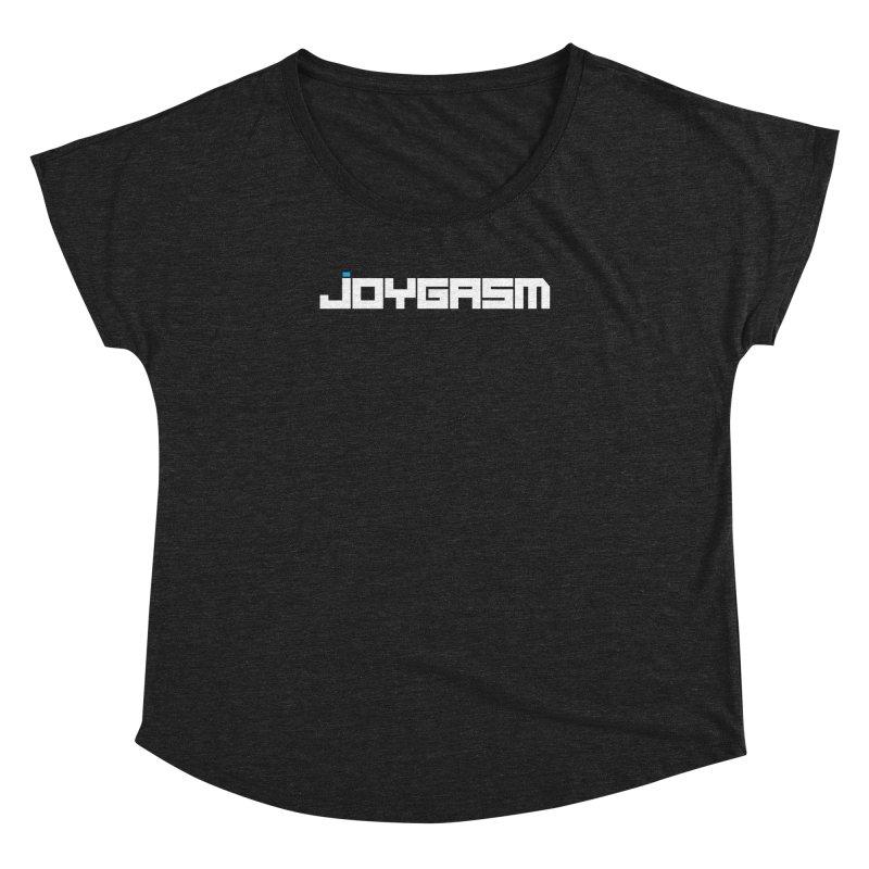Joygasm Logo Full Name Women's Dolman Scoop Neck by The Joygasm Store