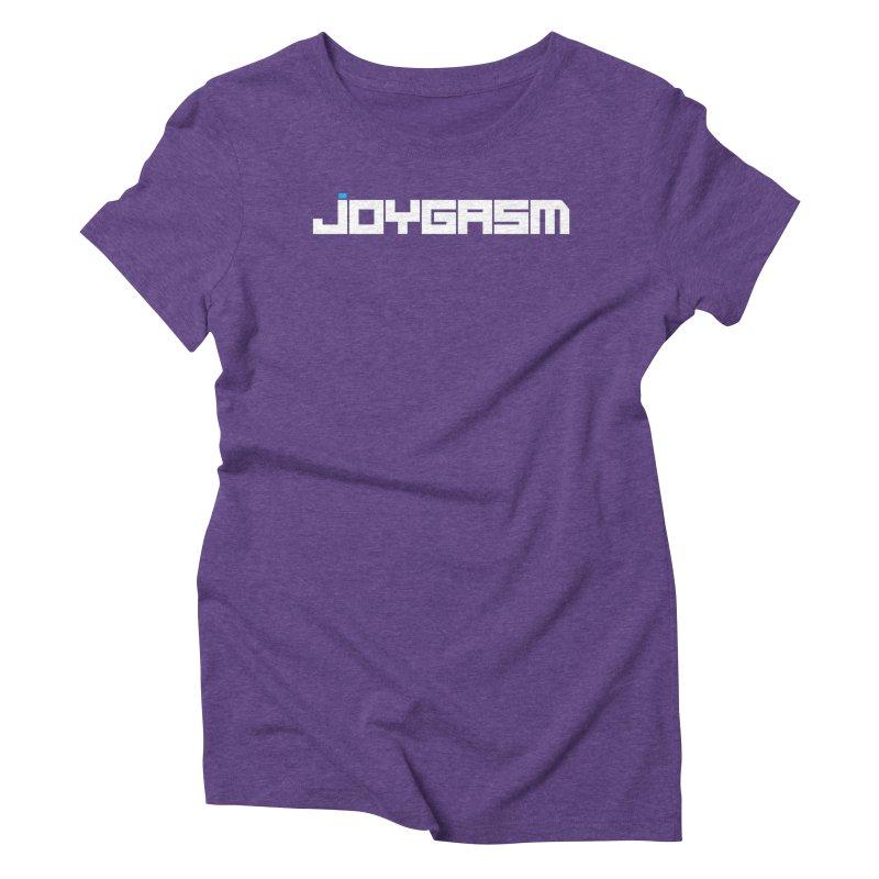 Joygasm Logo Full Name Women's Triblend T-Shirt by The Joygasm Store