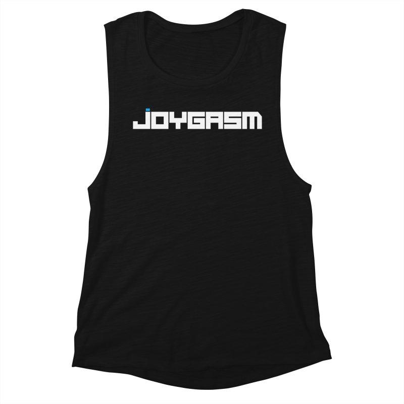 Joygasm Logo Full Name Women's Muscle Tank by The Joygasm Store
