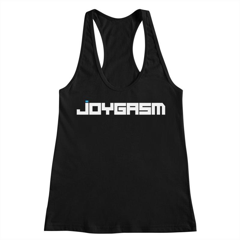 Joygasm Logo Full Name Women's Racerback Tank by The Joygasm Store