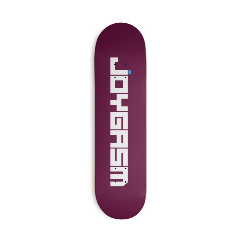 Joygasm Logo Full Name Accessories Skateboard by The Joygasm Store