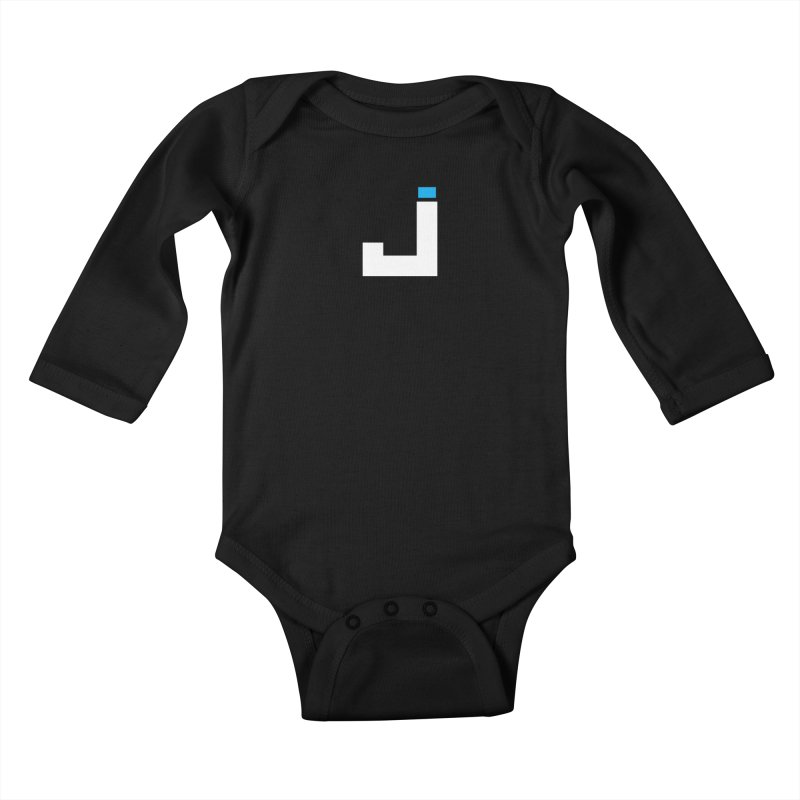 Joygasm Logo (no text) Kids Baby Longsleeve Bodysuit by The Joygasm Store
