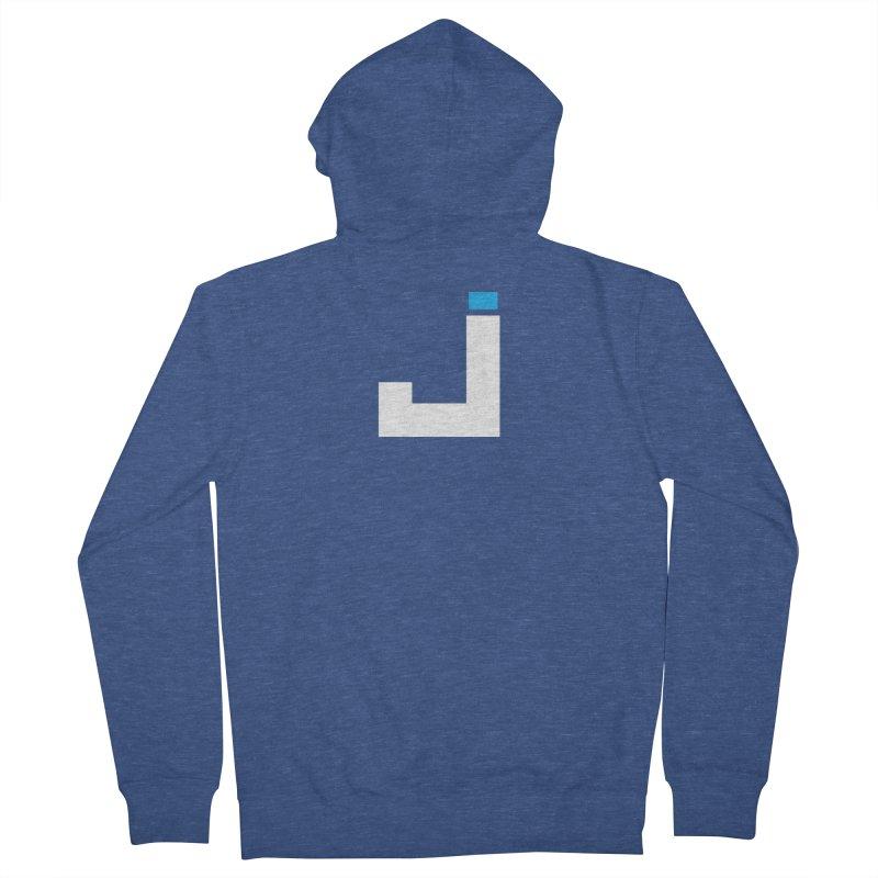 Joygasm Medium Size Logo (no text) Men's Zip-Up Hoody by The Joygasm Store