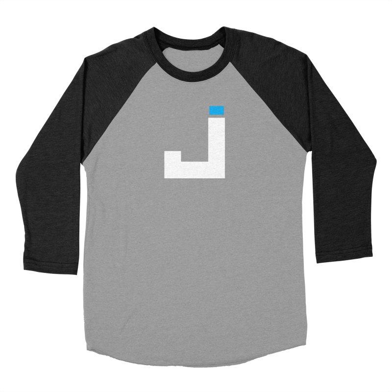 Joygasm Medium Size Logo (no text) Men's Baseball Triblend Longsleeve T-Shirt by The Joygasm Store