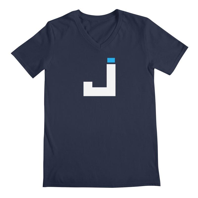 Joygasm Medium Size Logo (no text) Men's Regular V-Neck by The Joygasm Store
