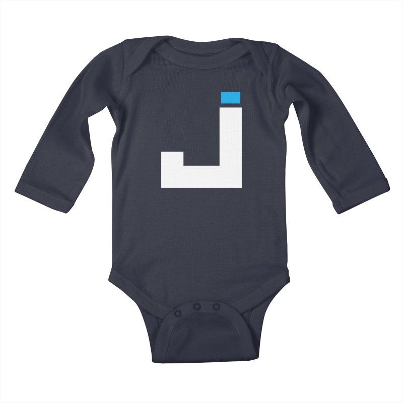 Joygasm Medium Size Logo (no text) Kids Baby Longsleeve Bodysuit by The Joygasm Store