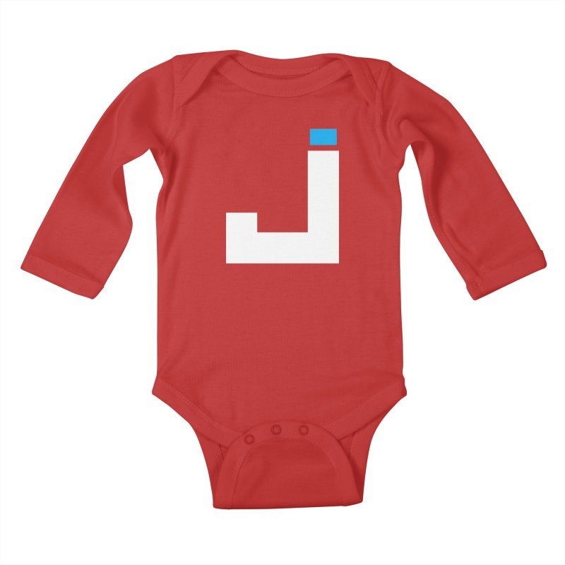 Joygasm Medium Size Logo (no text) Kids Baby Longsleeve Bodysuit by The Joygasm Store