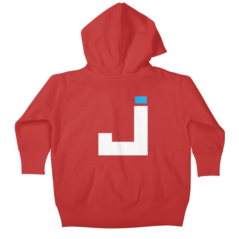 Joygasm Medium Size Logo (no text) Kids Baby Zip-Up Hoody by The Joygasm Store