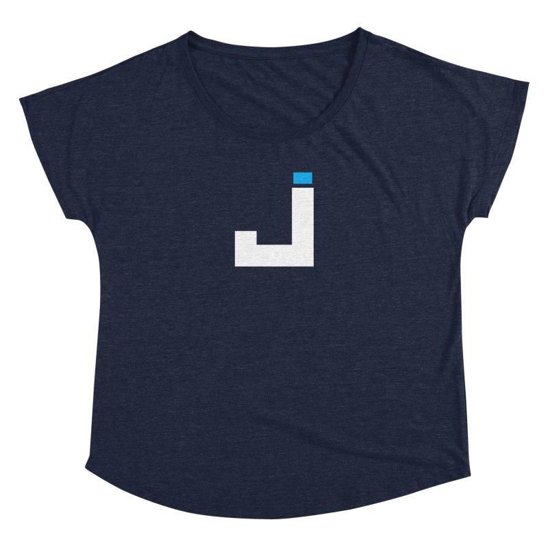 Joygasm Medium Size Logo (no text) Women's Dolman Scoop Neck by The Joygasm Store