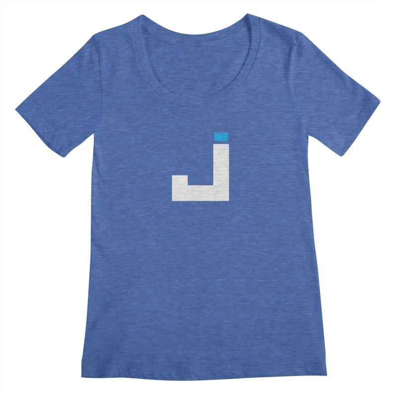 Joygasm Medium Size Logo (no text) Women's Regular Scoop Neck by The Joygasm Store