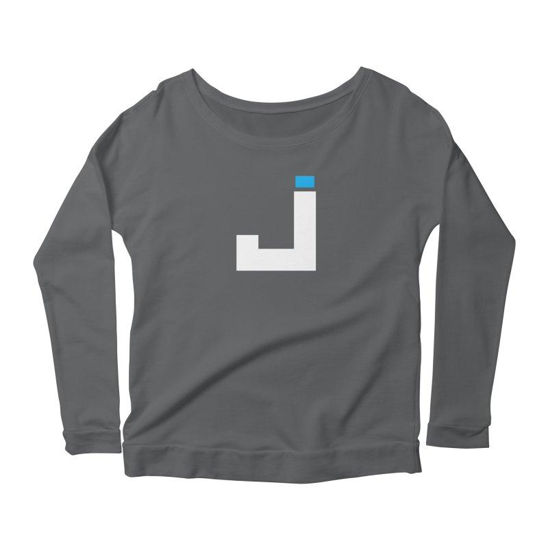Joygasm Medium Size Logo (no text) Women's Scoop Neck Longsleeve T-Shirt by The Joygasm Store