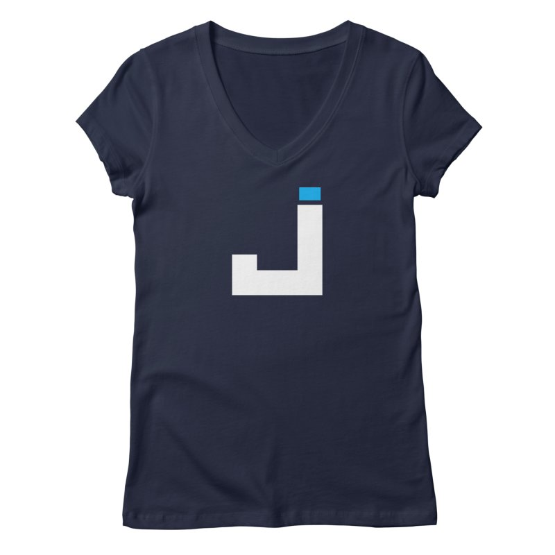 Joygasm Medium Size Logo (no text) Women's Regular V-Neck by The Joygasm Store