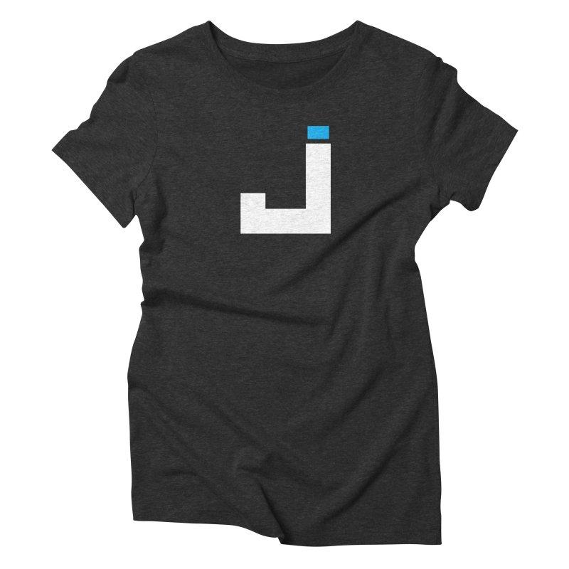 Joygasm Medium Size Logo (no text) Women's Triblend T-Shirt by The Joygasm Store