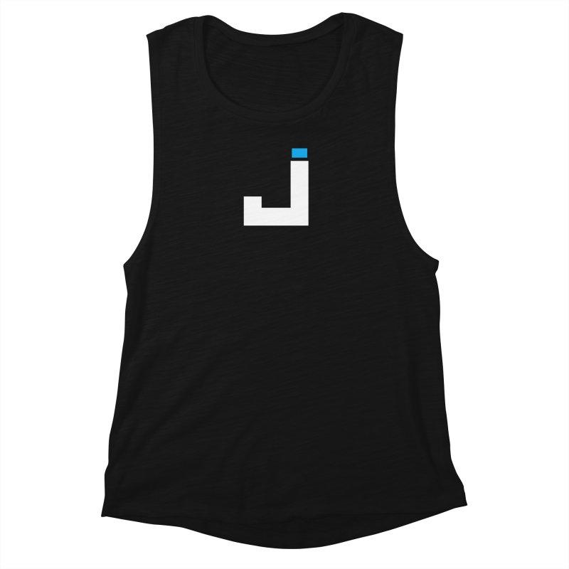 Joygasm Medium Size Logo (no text) Women's Muscle Tank by The Joygasm Store