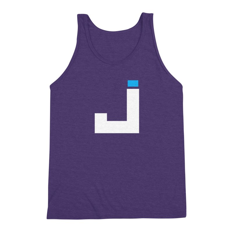 Joygasm Medium Size Logo (no text) Men's Triblend Tank by The Joygasm Store