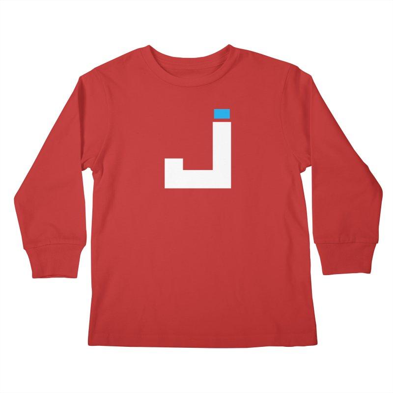 Joygasm Medium Size Logo (no text) Kids Longsleeve T-Shirt by The Joygasm Store