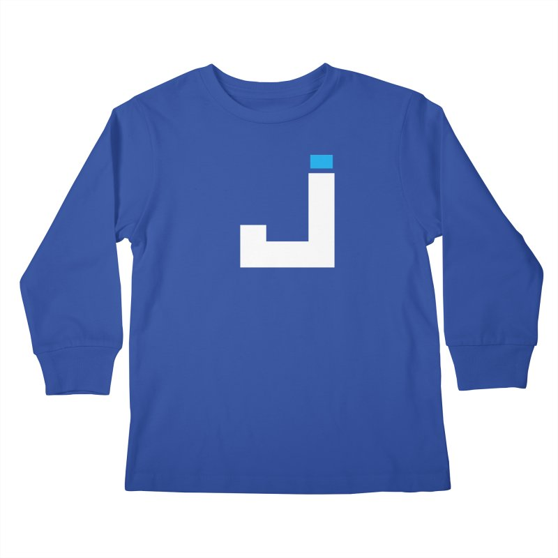 Joygasm Medium Size Logo (no text) Kids Longsleeve T-Shirt by The Joygasm Store