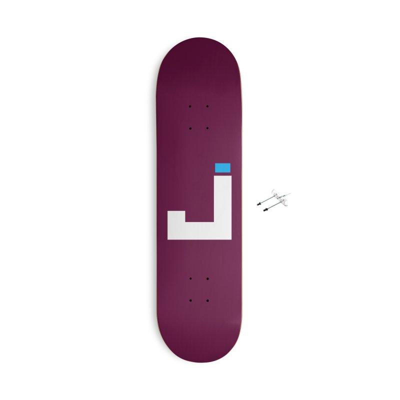 Joygasm Medium Size Logo (no text) Accessories Skateboard by The Joygasm Store