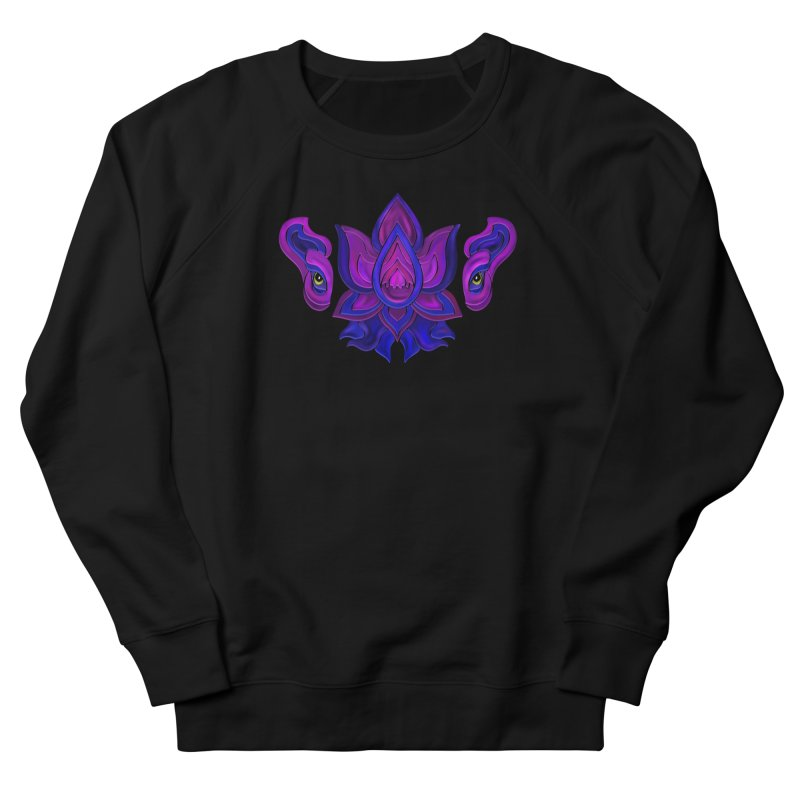Ganesha Lotus Men's French Terry Sweatshirt by Joyheartist