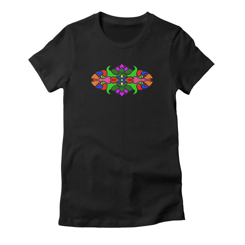 My Tiles Women's Fitted T-Shirt by Joyheartist