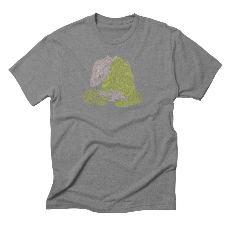 No Mind (Om Mani Padme Hum mantra) Men's Triblend T-shirt by Joyheartist