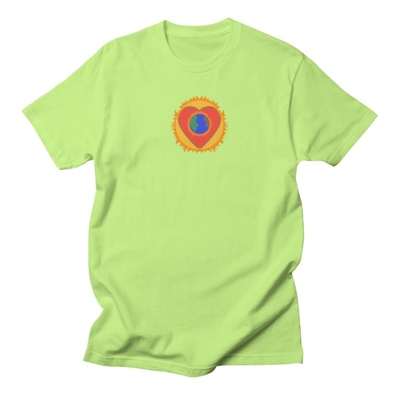 Sol, Terra, Amor Men's Regular T-Shirt by Joyheartist