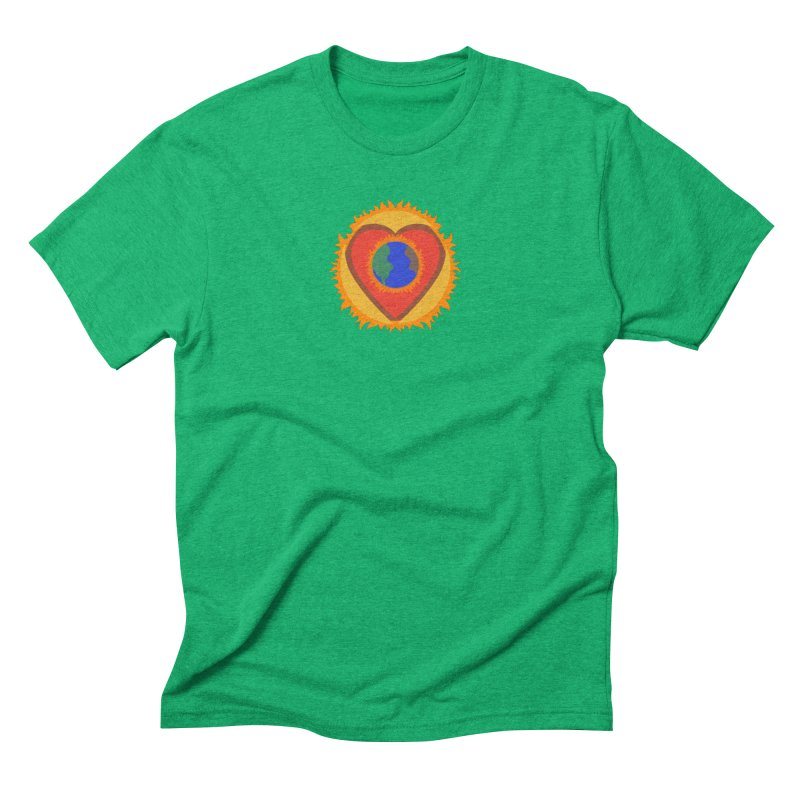 Sol, Terra, Amor Men's Triblend T-shirt by Joyheartist