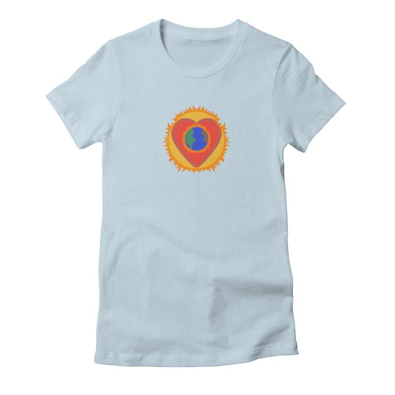 Sol, Terra, Amor Women's Fitted T-Shirt by Joyheartist