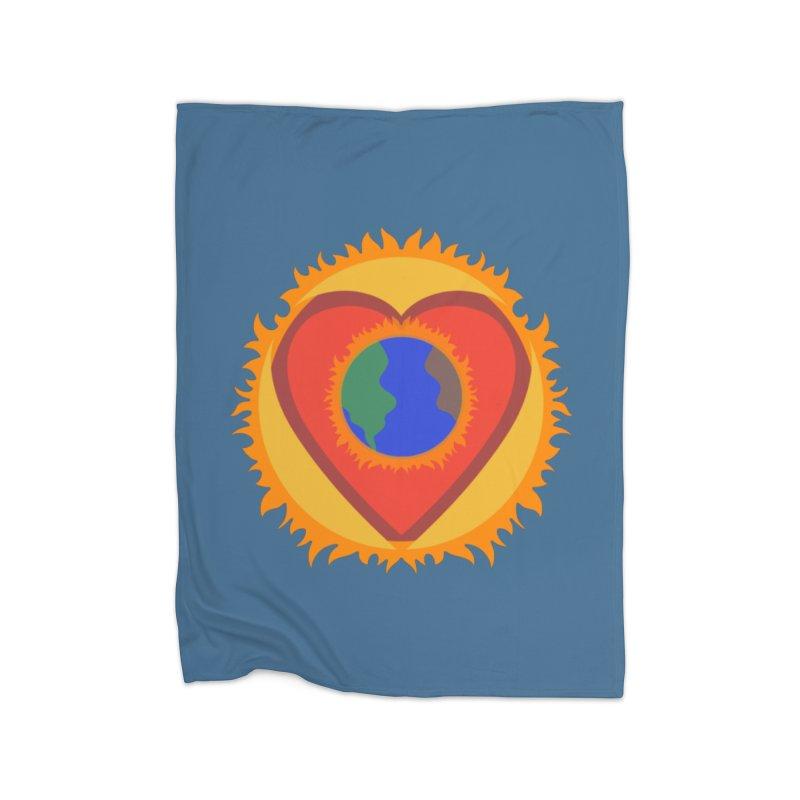 Sol, Terra, Amor Home Blanket by Joyheartist