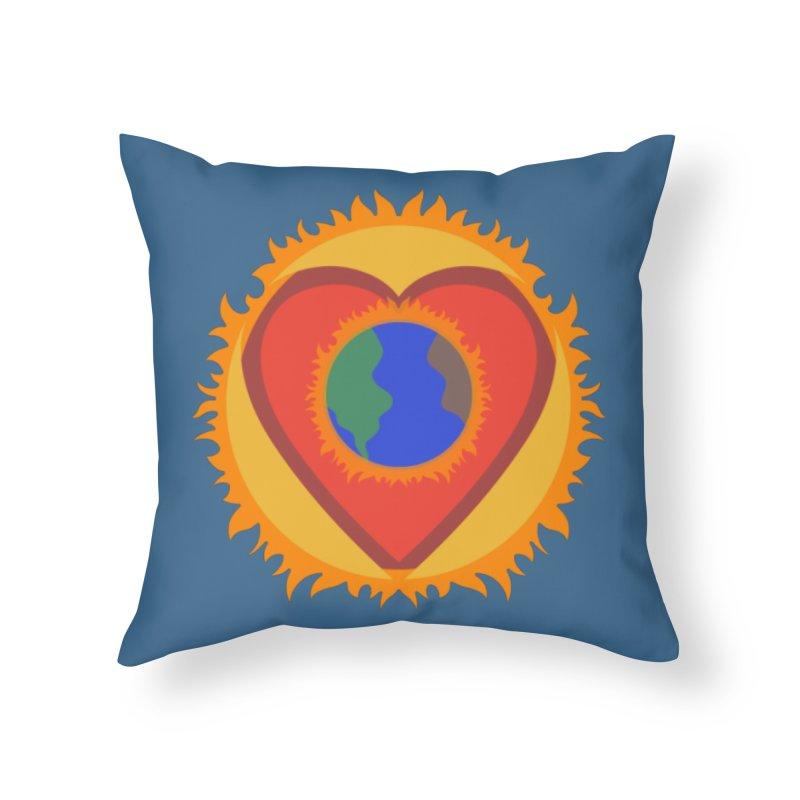 Sol, Terra, Amor Home Throw Pillow by Joyheartist