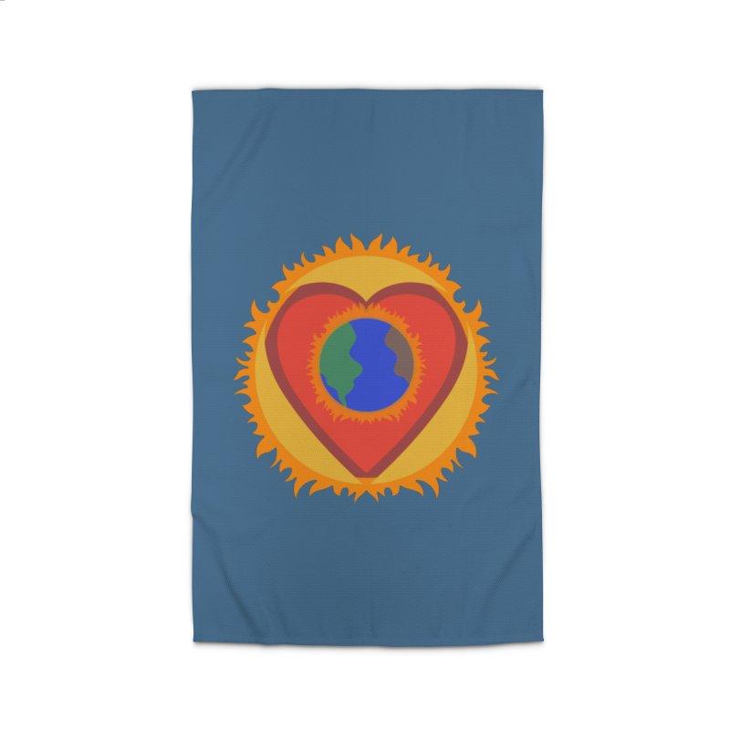 Sol, Terra, Amor Home Rug by Joyheartist