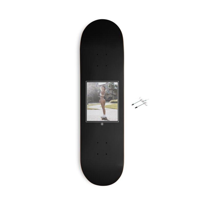 Ashton Accessories With Hanging Hardware Skateboard by jpaullphoto's Artist Shop