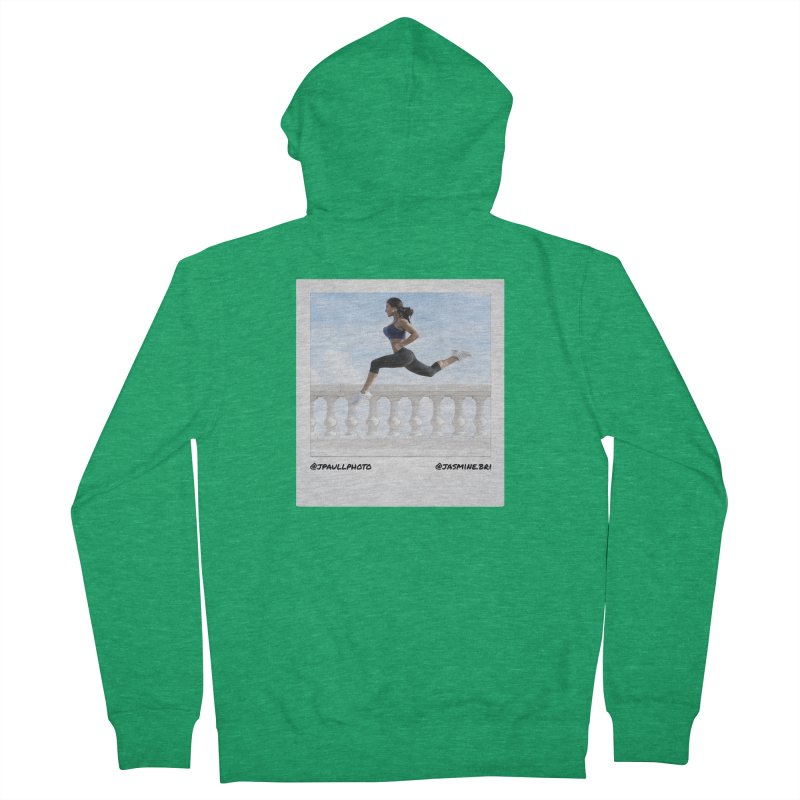 Jasmine Run Women's Zip-Up Hoody by jpaullphoto's Artist Shop