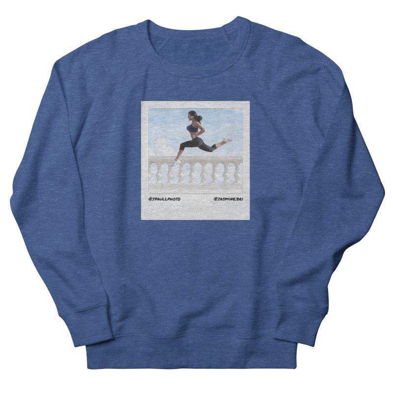 Jasmine Run Women's French Terry Sweatshirt by jpaullphoto's Artist Shop
