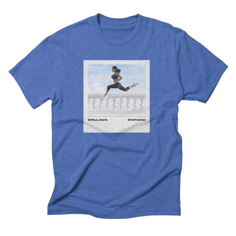 Jasmine Run Men's Triblend T-Shirt by jpaullphoto's Artist Shop