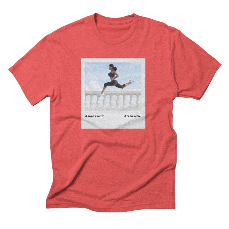 Jasmine Run Men's Triblend T-Shirt by jpaullphoto's Artist Shop