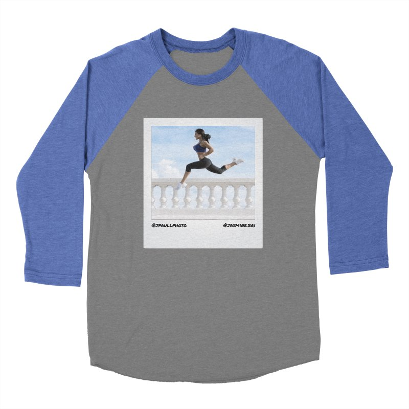 Jasmine Run Women's Baseball Triblend T-Shirt by jpaullphoto's Artist Shop